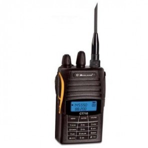 Midland CT 710 Dual Band VHF/UHF, radioaficionados