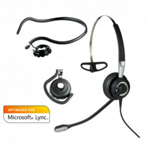 Jabra BIZ 2400 II Mono USB - 3 en 1 - Conexión Bluetooth y Certificado Skype empresarial