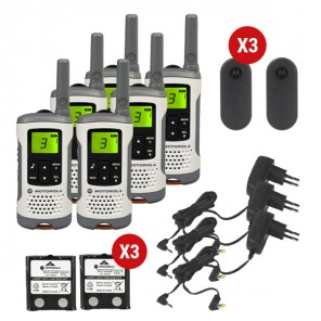 Pack Motorola T50 Sexteto