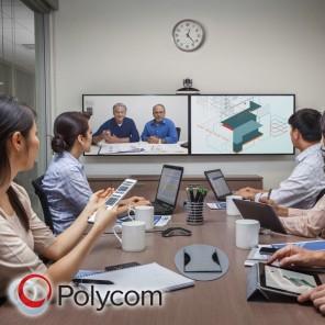 Polycom RealPresence Group 500 (Cámara Acoustic)