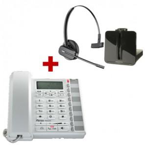 Depaepe Premium 300 Blanco + Plantronics CS540