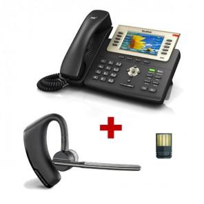 Yealink T29G + Plantronics Voyager LEGEND + Dongle USB Bluetooth