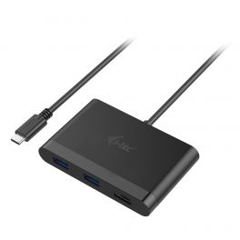 i-tec HDMI 4k Ultra HD 3840x2160 px, 2x puerto USB 3.0, NUEVO 1x USB-C Power Delivery