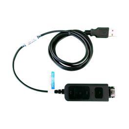 Cable adaptador USB DSU011M con conexión QD tipo Plantronics