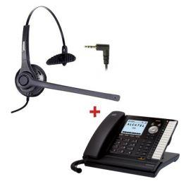 Alcatel Temporis IP701G + Auricular Freemate DH037C + fuente alimentación