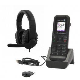 Alcatel 8232S Dect + cargador con alimentador + Auricular HS-300