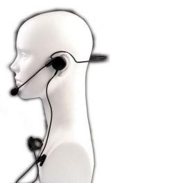 Micrófono auricular HS-2 para Kenwood