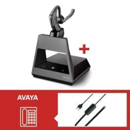 Plantronics Voyager 5200 MS Office USB-C con descolgador electrónico para Avaya