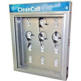 Armario de higienización para 12 auriculares