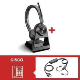 Plantronics Savi 7220 Office Duo para teléfonos fijos Cisco