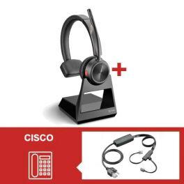 Plantronics Savi 7210 Office Mono con descolgador electrónico para Cisco