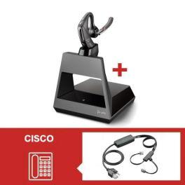 Plantronics Voyager 5200 Office con descolgador electrónico para Cisco