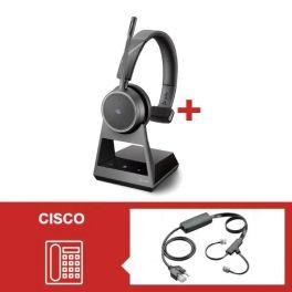 Plantronics Voyager 4210 Office USB-A MS con descolgador electrónico para teléfono Cisco
