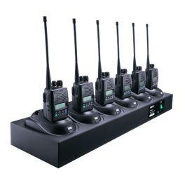 Cargador rápido múltiple 6 posiciones para Entel Series HX/DX