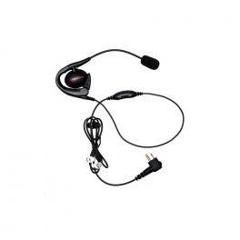 Motorola Auricular con contorno de oreja y micrófono PTT para DP1400