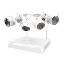 Sistema de vigilancia Ezviz ezWireless Kit 4IPC