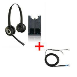 Auricular GN920 duo + descolgador electrónico para Siemens