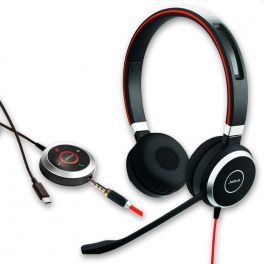Jabra Evolve 40 UC Estéreo - USB-C