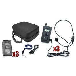 Intercomunicador Multicom MC-11 - Pack Trío