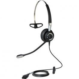Jabra BIZ 2400 II Mono, 3 sujeciones con micrófono ultra cancelación
