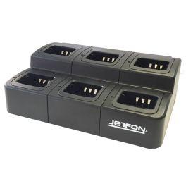 Cargador múltiple Jetfon para Kenwood (6 posiciones)