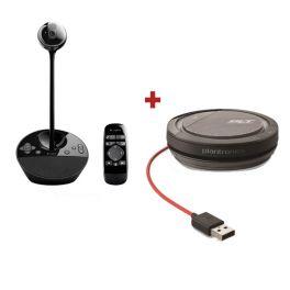 Pack de Logitech BCC950 + Plantronics Calisto 3200 USB-A