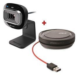 Pack de Microsoft Lifecam con Plantronics Calisto 3200