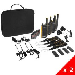 Pack 2x Motorola TLKR T82 Extreme Quad