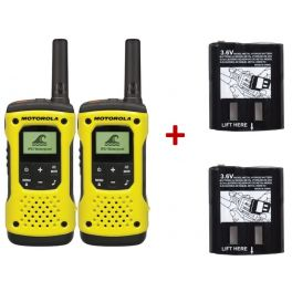 Pack de 2 Motorola T92 + Baterias potentes