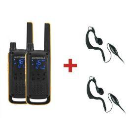 Motorola TLKR T82 Extreme + 2 Kits contorno