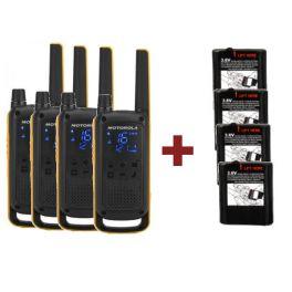 Motorola T82 Extrem Quad + 4 baterías potentes de 1300mAh