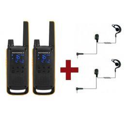 Motorola Talkabout T82 Extreme x 2 + Kit Bodyguard x 2