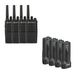 Pack de 4 Motorola XT420 + baterías de recambio
