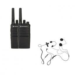 Pack promocional de 2 Motorola XT420 + microauriculares