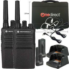 Pack 2 Motorola XT420 + 2 Kit Bodyguard + 1 Maleta