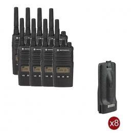 Pack de 8 Motorola XT460 + Baterias recargables
