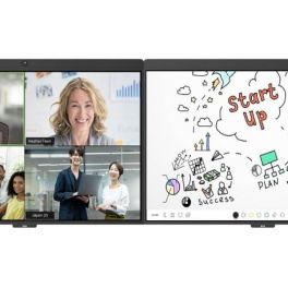 DTEN D7 55'' Doble pantalla táctil para el Zoom Room