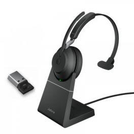 Jabra Evolve2 65 Mono USB-C con base de carga