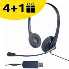 4 auriculares Cleyver, el 5º de regalo