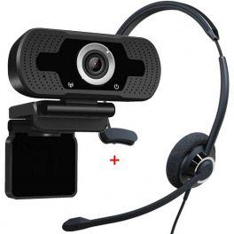 Cleyver HC60 USB con Webcam USB HD