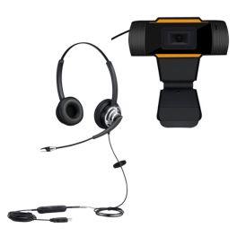 Cleyver HC65F Flex USB  + USB webcam