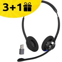 3 auriculares Cleyver, el 4º de regalo