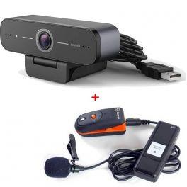 Webcam USB HD con micrófono inalámbrico Speechi