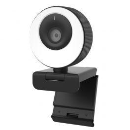 Clyever Webcam HD con aro de luz