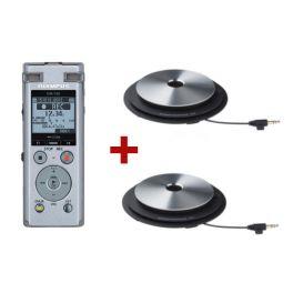 Olympus DM-720 + 2 micrófonos ME-33