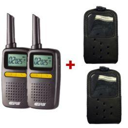 Pack Walkie talkie CPS225 + 2 fundas DYNAF010
