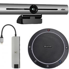 Cleyver Flextool Pack Videoconferencia bluetooth PRO