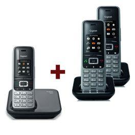 Teléfono Gigaset S850 + 2 Supletorios S650H