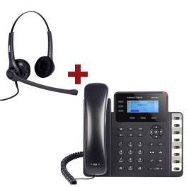Grandstream GXP1630 + auricular Freemate DH037UB-GY