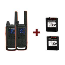 Pack Motorola T82 + Baterías potentes 1300mAh